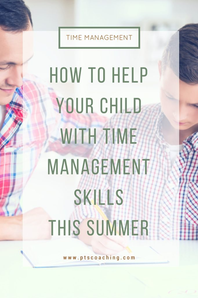 time management skills for kids with ADHD